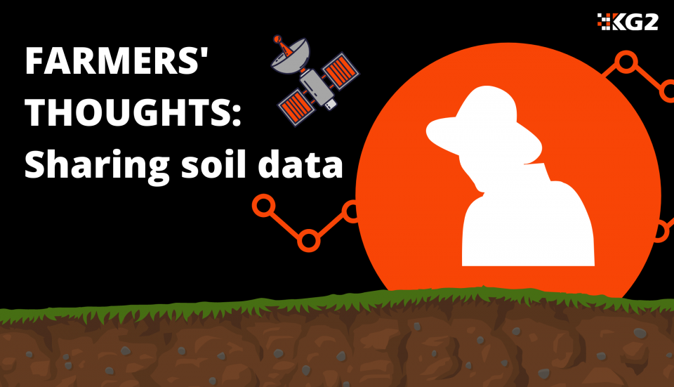 Farmers' thoughts: are farmers comfortable sharing soil data?