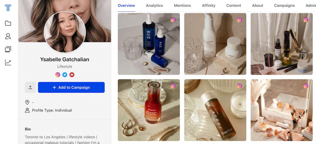 Ysabelle Gatchalian (@yssaboutskin) Influencer marketing success