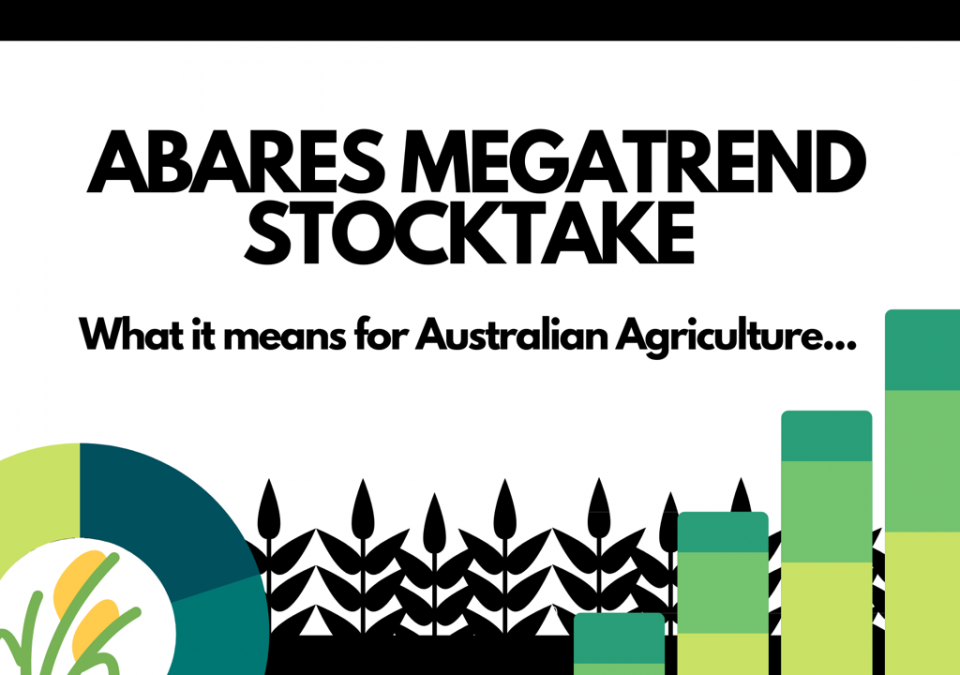 ABARES megatrends stocktake: What it means for Australian Agriculture